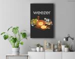 Weezer - Lion On The Floor Premium Wall Art Canvas Decor