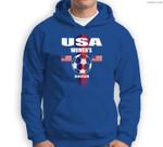 Women Soccer Team USA United States Soccer Fan Woman Sweatshirt & Hoodie