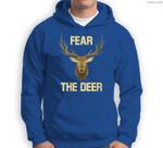 Womens Classic Fear Milwaukee Basketball Retro Fan Sweatshirt & Hoodie