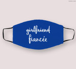 Womens Girlfriend Fiancee Funny Fiance Engagement Party Cloth Face Mask