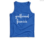 Womens Girlfriend Fiancee Funny Fiance Engagement Party Men Tank Top