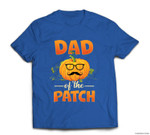 Cute Halloween Dad Of The Cutest Pumpkin In The Patch T-shirt