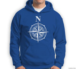 Four Compass Points Direction North Group Halloween Sweatshirt & Hoodie
