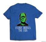 Frank Brings The Fun Funny Frankenstein Halloween T-shirt