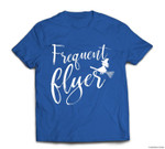 Frequent Flyer Witch Cute Funny Halloween T-shirt