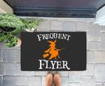 Frequent Flyer Witch Perfect Halloween Doorrmat
