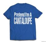 Fun and Easy Halloween Costume - Pretend I'm A Cantaloupe T-shirt