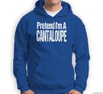 Fun and Easy Halloween Costume - Pretend I'm A Cantaloupe Sweatshirt & Hoodie