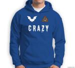 Funny Bat Poop Crazy Halloween Costume Men Women Gift Sweatshirt & Hoodie