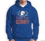 Funny Crash Test Dummy Easy Last Minute Halloween Costume Sweatshirt & Hoodie