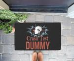 Funny Crash Test Dummy Easy Last Minute Halloween Costume Doorrmat