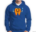 Funny Dental Halloween Tooth Pumpkin Dentist Halloween Gift Sweatshirt & Hoodie