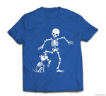 Funny Dog like bones, bone skeleton Halloween skull T-shirt
