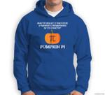 Funny Halloween Math Pun  Pumpkin Pi Sweatshirt & Hoodie