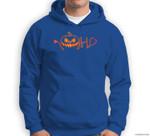 Funny Halloween Nurse Doctor Stethoscope Pumpkin Sweatshirt & Hoodie