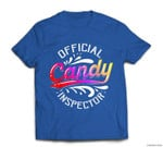 Funny Halloween Retro Vintage Candy Inspector Costume T-shirt