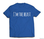 Funny Matching Halloween Beauty And Beast T-shirt