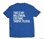 Funny Millennial Costume contest halloween joke gift T-shirt