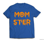 Funny Momster Pumpkin mom halloween for Moms T-shirt