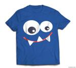 Funny Monster Halloween , Monster Face T-shirt