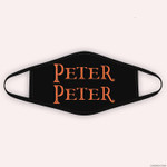 Funny Peter Peter Pumpkin Eater Costume Matching Halloween Cloth Face Mask