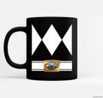 Funny Super Hero Ranger Costume Halloween Ceramic Coffee Black Mugs