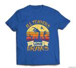 Funny Teacher All Teachers Love Brains Funny Halloween T-shirt