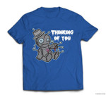 Funny Voodoo Doll Thinking of You Halloween Costume T-shirt