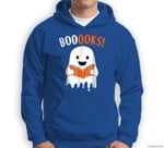 Ghost Reading Books Funny Halloween Kids Adults Sweatshirt & Hoodie