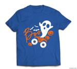 Ghost rider truck Monster Halloween pumpkin T-shirt