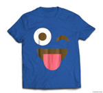 Giant Emoji Face - Funny Emoji Halloween Costume T-shirt