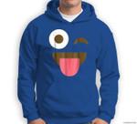 Giant Emoji Face - Funny Emoji Halloween Costume Sweatshirt & Hoodie