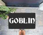 Goblin Lazy Halloween Costume Funny Doorrmat
