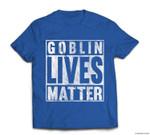 Goblin Lives Matter Vintage Funny Halloween Goblin Live Gift T-shirt