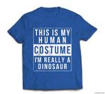 Dinosaur Halloween Costume Funny Easy for kids adult T-shirt