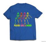 FLOSS LIKE A BOSS Flossing Skeleton T-shirt