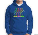FLOSS LIKE A BOSS Flossing Skeleton Sweatshirt & Hoodie