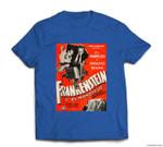 Frankenstein Halloween Monster Poster Spanish Horror Movie T-shirt