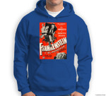 Frankenstein Halloween Monster Poster Spanish Horror Movie Sweatshirt & Hoodie