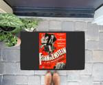 Frankenstein Halloween Monster Poster Spanish Horror Movie Doorrmat