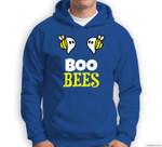 Funny Boo Bees Halloween Costume Ghost Saying Gift Sweatshirt & Hoodie