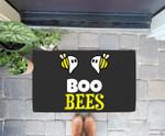 Funny Boo Bees Halloween Costume Ghost Saying Gift Doorrmat
