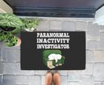 Funny Paranormal Activity Ghost Halloween Gift Doorrmat
