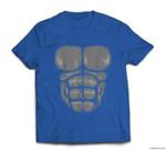 Gorilla Chest  Halloween Costume Suit T-shirt