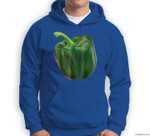 Green Bell Pepper Halloween Costume Veggie Salad Sweatshirt & Hoodie
