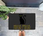 Halloween . Hocus pocus . Cat ghost Doorrmat