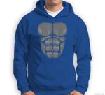 Gorilla Chest, abs, funny Halloween costume Sweatshirt & Hoodie