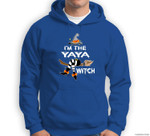 Grandma - I'm the YaYa witch - Halloween Sweatshirt & Hoodie