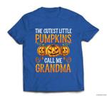 Grandma Halloween The Cutest Little Pumpkins Call Me Grandma T-shirt