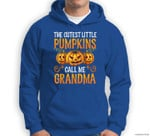 Grandma Halloween The Cutest Little Pumpkins Call Me Grandma Sweatshirt & Hoodie